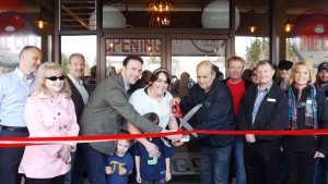 Ribbon cutting for the Snohomish Pie Co. in Mountlake Terrace